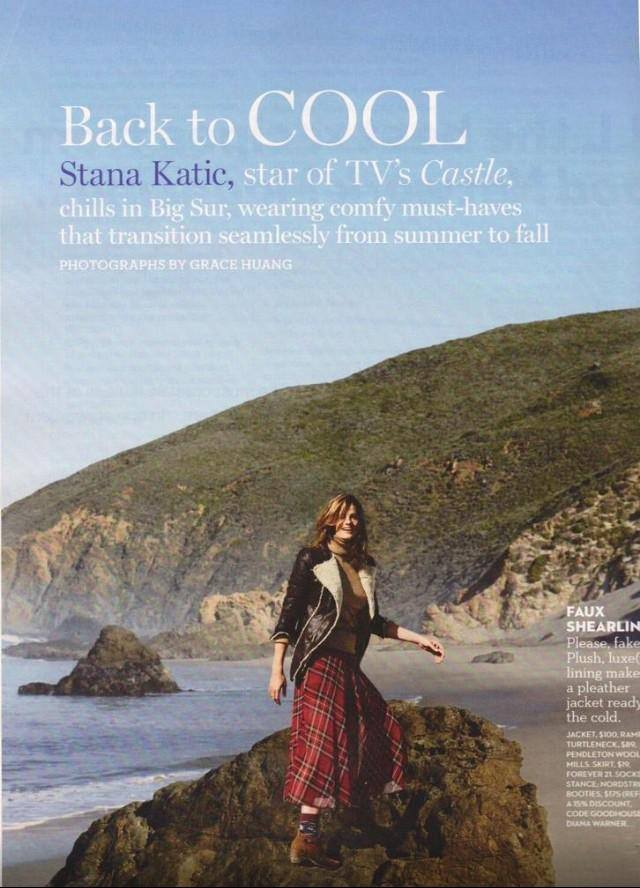 Stana Katic for Good Housekeeping Magazine