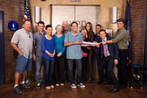 Stanathan and Castle's cast(August,2014)