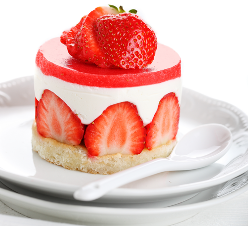 Food wallpaper with a virginia strawberry, a strawberry, and a fruit salad entitled Strawberry Dessert