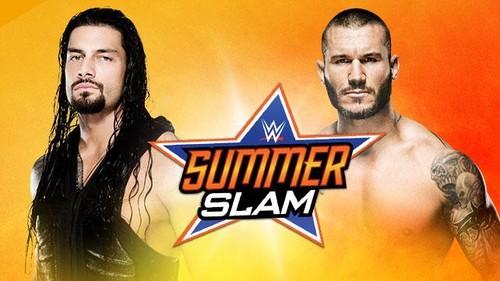 The Shield (WWE) wallpaper entitled SummerSlam: Roman Reigns vs Randy Orton