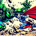 Superman Vs. The Hulk - superman icon