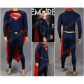 Superman cosplay jumpsuit