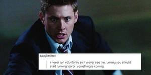 Supernatural | Tumblr Text Post