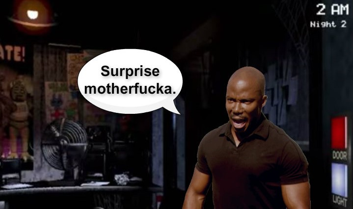 Surprise Motherf*cka.