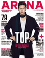 T.O.P for 'Arena Homme '