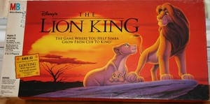 THe Lion King board game