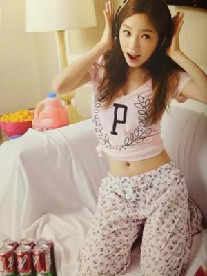 Taeyeon in Las Vegas Photobook