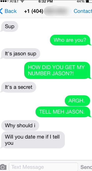 Talking to JASON.