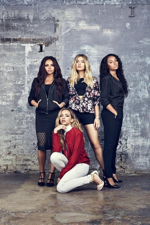 Tati photoshoot - Little Mix