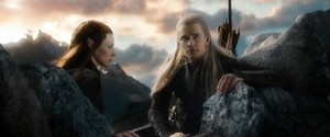 Tauriel and Legolas in BoFA