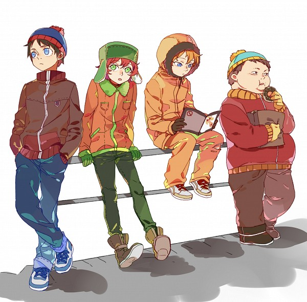 anime South park characters