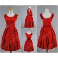The Deathly Hallows Hermione Granger Red Dress costume for Harry Potter Cosplay