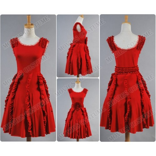 Harry Potter Hintergrund containing a kleid titled The Deathly Hallows Hermione Granger Red Dress costume for Harry Potter Cosplay