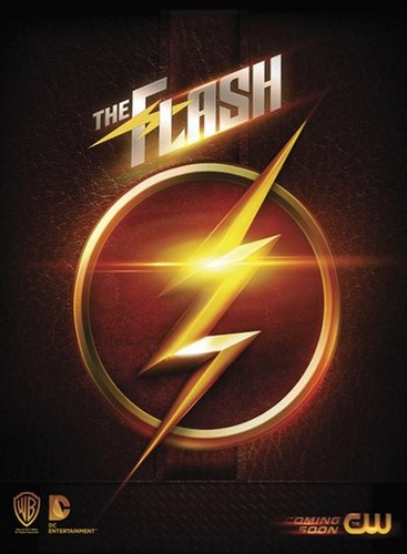 The Flash (CW) Hintergrund probably with a roulette wheel and a wind turbine called The Flash - New Promotional Poster
