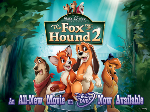 Disney Songs karatasi la kupamba ukuta possibly containing a sign and anime called The fox, mbweha and the Hound