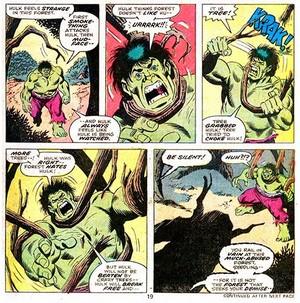 The Hulk VS. Groot