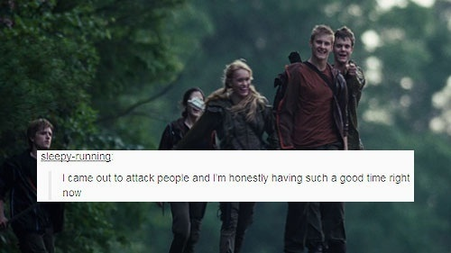 The Hunger Games   Tumblr Text Post