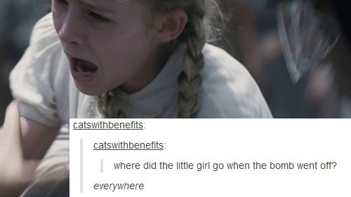 The Hunger Games | Tumblr Text Post