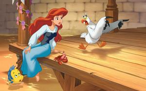 Walt डिज़्नी Book तस्वीरें - The Little Mermaid