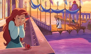 Walt Disney Book afbeeldingen - The Little Mermaid