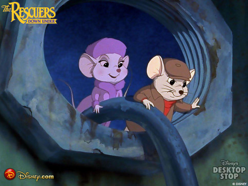 Disney Songs karatasi la kupamba ukuta possibly with a sign, a street, and anime titled The Rescuers Down Under