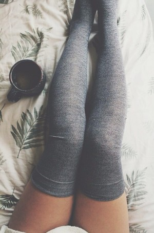 Thigh Socks and Coffee