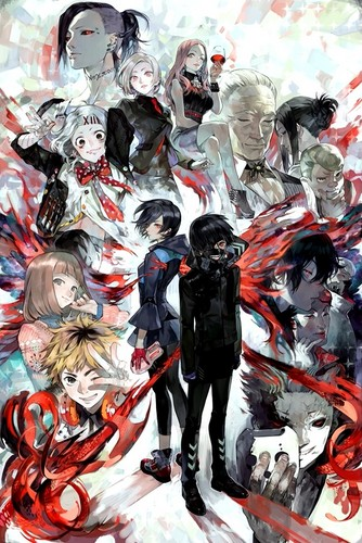 Tokyo Ghoul wallpaper containing Anime titled Tokyo Ghoul
