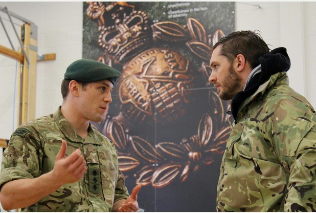 Tom Hardy Images Tom Hardy Visits Royal Marines Wallpaper And