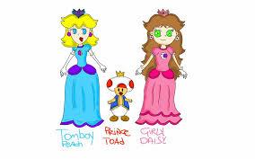Tomboy 桃子 and Girly 雏菊, 黛西