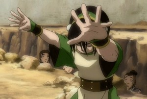 Toph in action