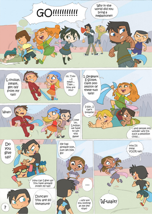Total Drama Kids Comic: Part 6