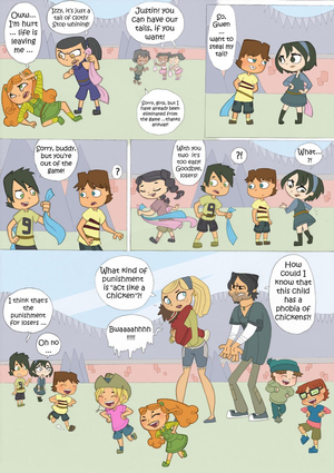 Total Drama Kids Comic: Part 7
