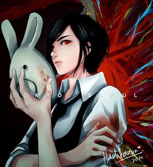 """Touka """" Rabbit"""" Kirishima"""
