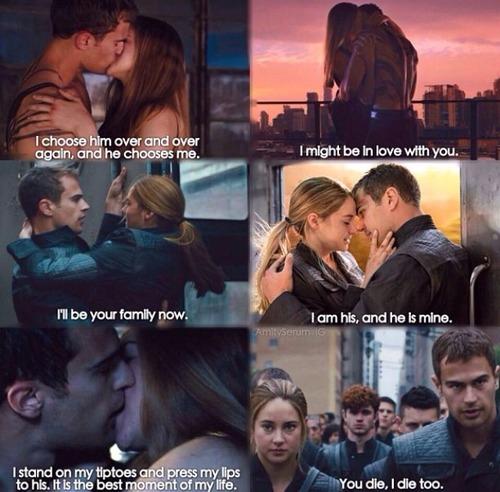 Tris and Four,Divergent