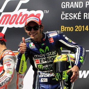 Vale 3rd in Brno GP