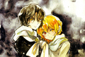 Vincent and Gilbert Nightray  - pandora-hearts wallpaper