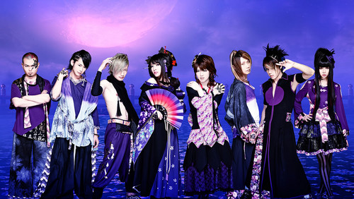 Wagakki Band achtergrond called Wagakki Band