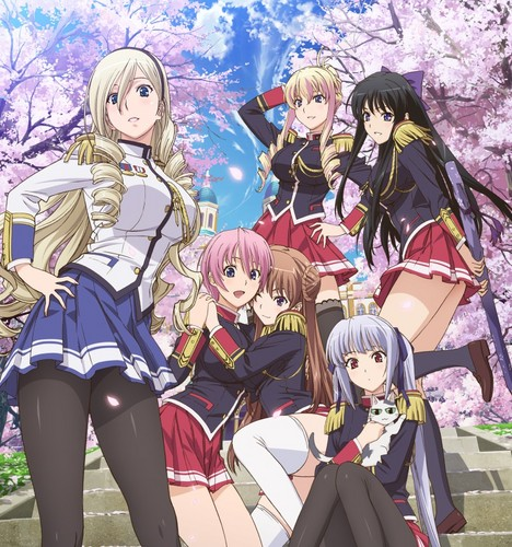 anime achtergrond with anime titled Walkure Romanze