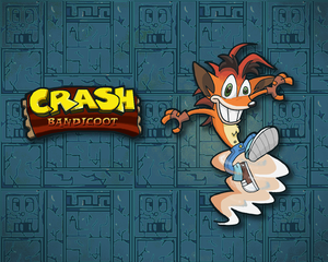fond d'écran - Crash Bandicoot