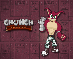 Wallpaper - Crunch Bandicoot