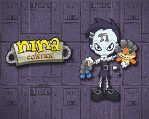 Wallpaper - Nina Cortex