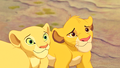 Walt 迪士尼 Screencaps - Nala & Simba