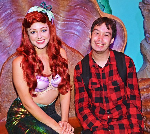 Walt Disney Characters achtergrond entitled Walt Disney World: New Fatasyland - Princess Ariel & PrueFever