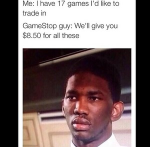 When You're Tryna Trade In/Sell Games At GameStop