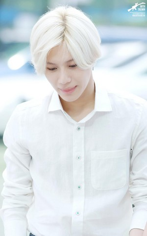 White Hair Taemin <3