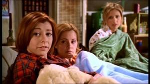 Willow Anya and Buffy
