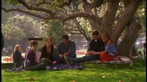 Willow Tara Xander Anya Buffy and Riley