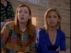 Willow and Buffy