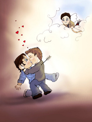 Wincest Drawing