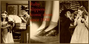 Wiz of Oz/ Ruby Slippers tribute collage